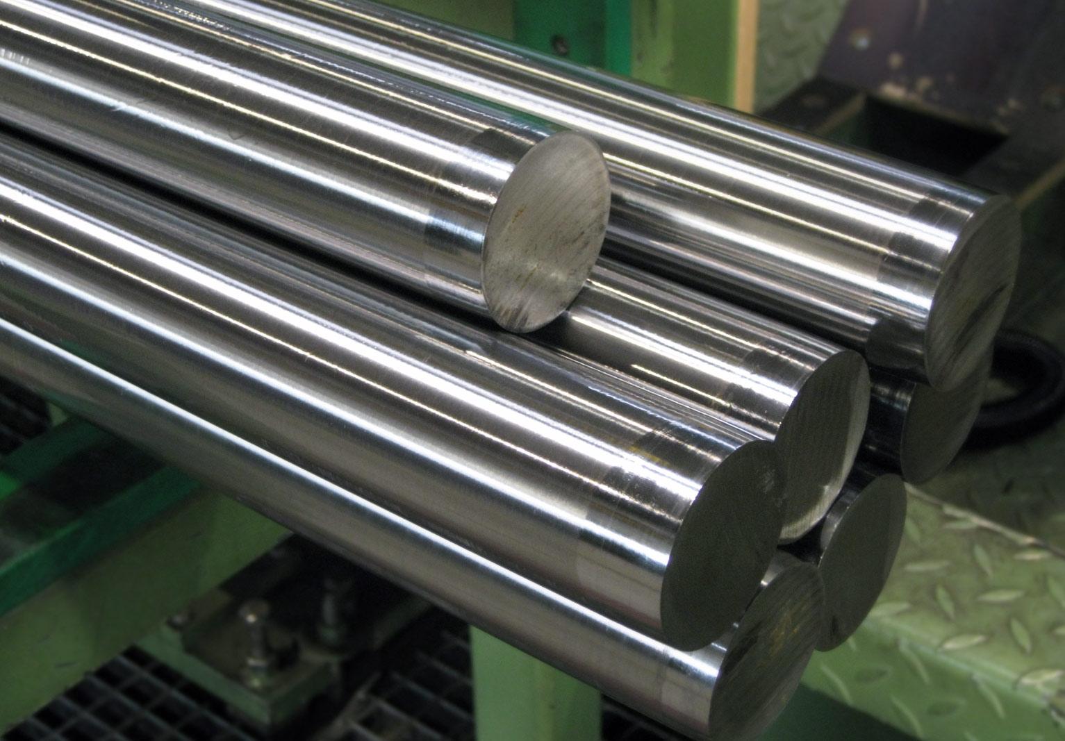 Drawn And Ground Round Steel Bars